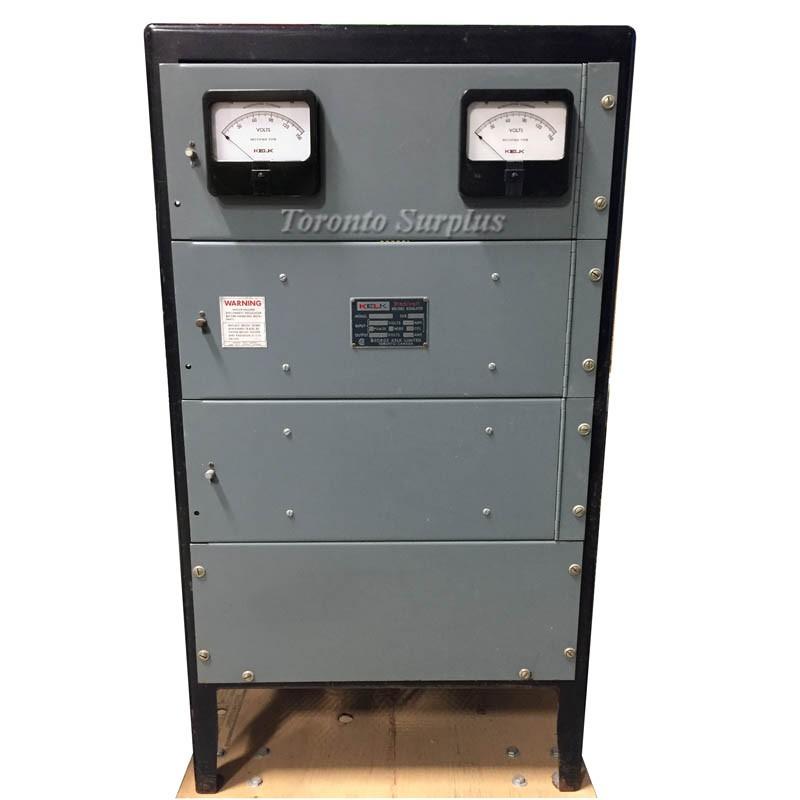 120/240 - 120/240 sec Kelk SLD130T Stedivolt Voltage Regulator 120 ...