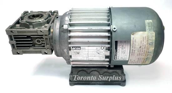 Lenze Vde0530 Ac Motor Derabr 071 12 With