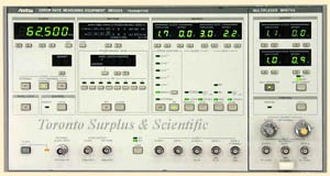 Anritsu ME522A Error Rate Transmitter Section with MH676A 1.4 Gb/s Multiplexer / Error Rate Measuring Equipment (In Stock) z1