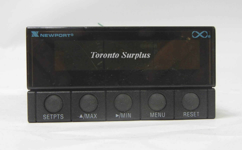 Newport Electronics INF-P-0-3-00-SP-FS-MV /  INFP0300SPFSMV Infinity Process Panel Meter DC Current, Voltage, Potentiometer