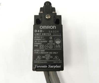 Omron D4D-3A32N Limiting Switch 1