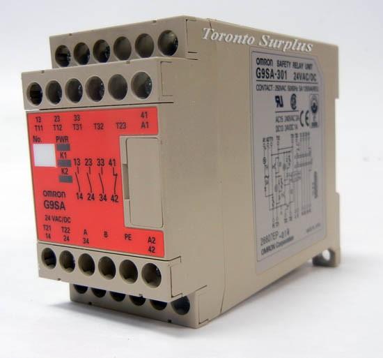 Omron G9sa-301 Safety Relay Unit  - Relays