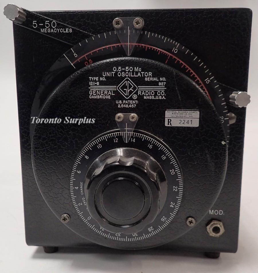 General Radio 1211-B
