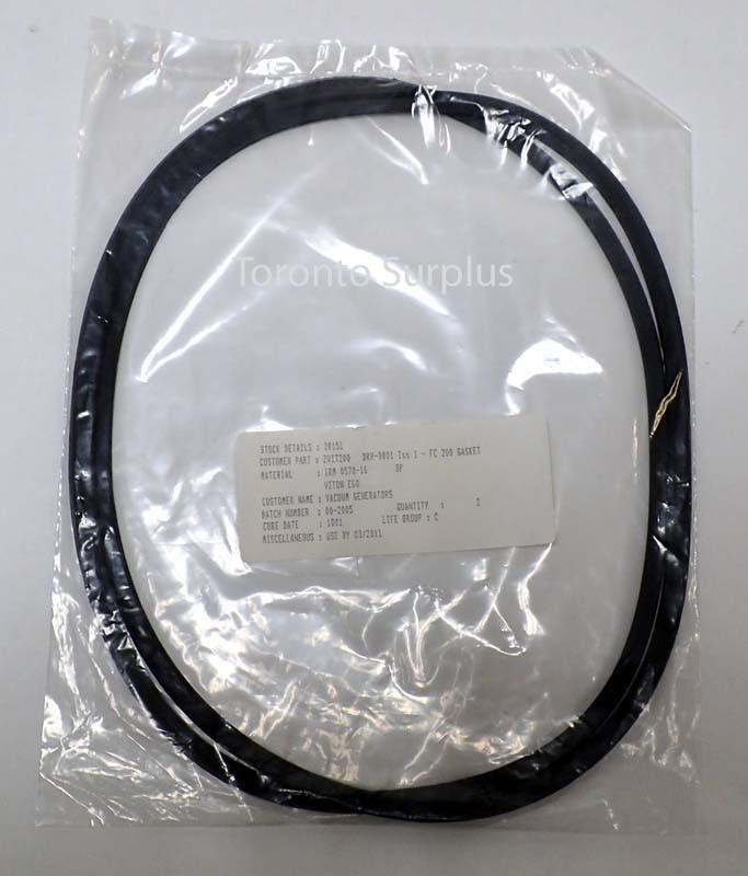 Gasket - Kurt J. Lesker ZVIT200, Viton for 10 inch CF Flange - BRAND NEW/NOS - 2/Pack