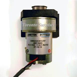 Pittman GM9232C513-R7 38.2VDC 11.5:1 Ratio