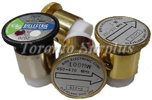100 mW, 72-76 MHz - Bird Electronic Corp. # 430-2 Element / Slug