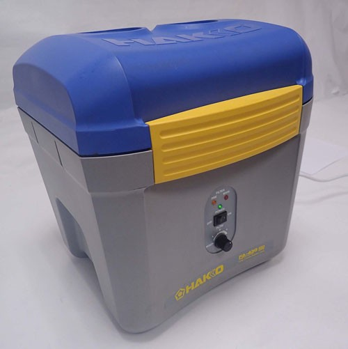 Hakko FA-430 Smoke and Fume Extraction Bench top with 2 ports 120V