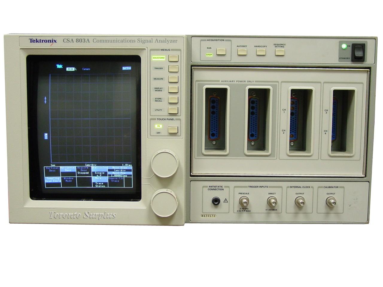 Tektronix CSA803A Communications Signal Analyzer