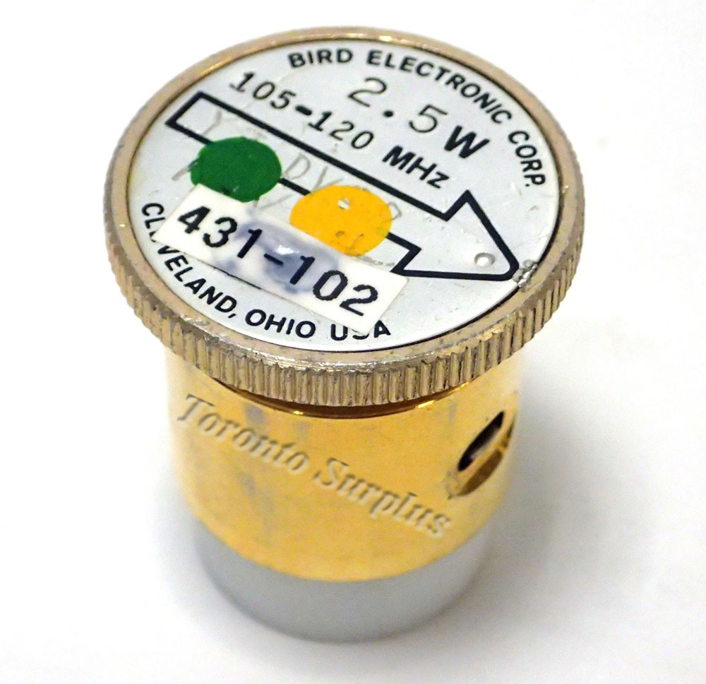 2.5 W, 102-120 MHz - Bird Electronic Corp. 431-102 Element / Slug