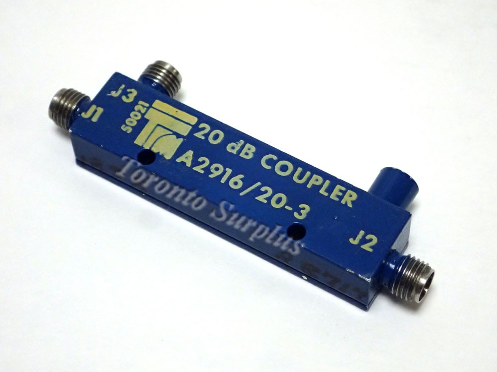 TRM Technical Research Manufacturing A2916 / 20-3 Coupler