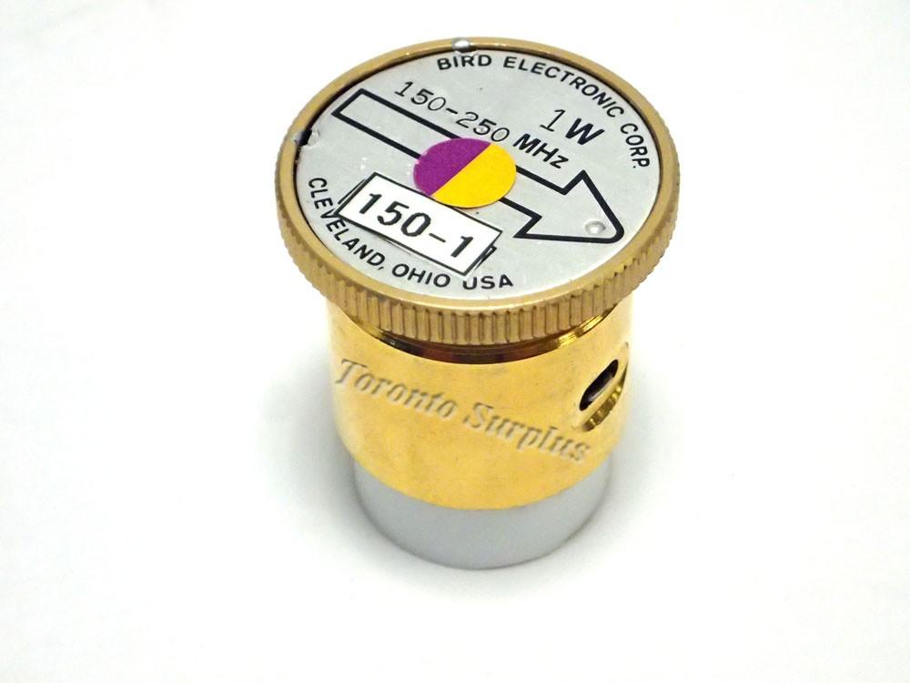 1 W, 150-250 MHz - Bird Electronic Corp. 150-1 Element / Slug
