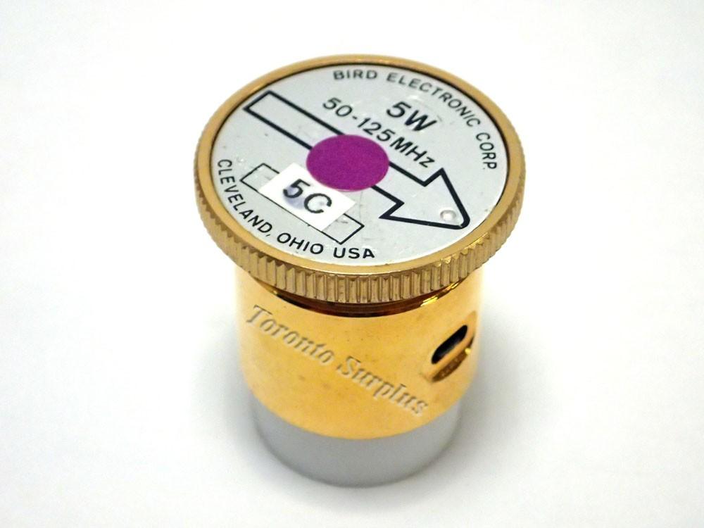 5 W, 100-250 MHz - Bird Electronic Corp. 5C Element / Slug