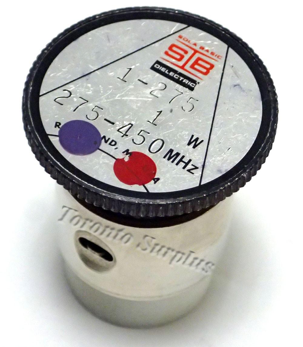 1 W, 275-450 MHz - Sola Basic Dielectric 1-275 Element / Slug