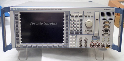 Rohde & Schwarz CMU200 Universal Radio Communication Tester 1100.0008.02 Loaded with 65+ Options + Cable
