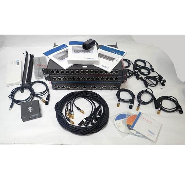 Audio Precision Ats-2 Audio Analyzer W/ 2x Swr-2755m Audio Switchers & USB Adapter