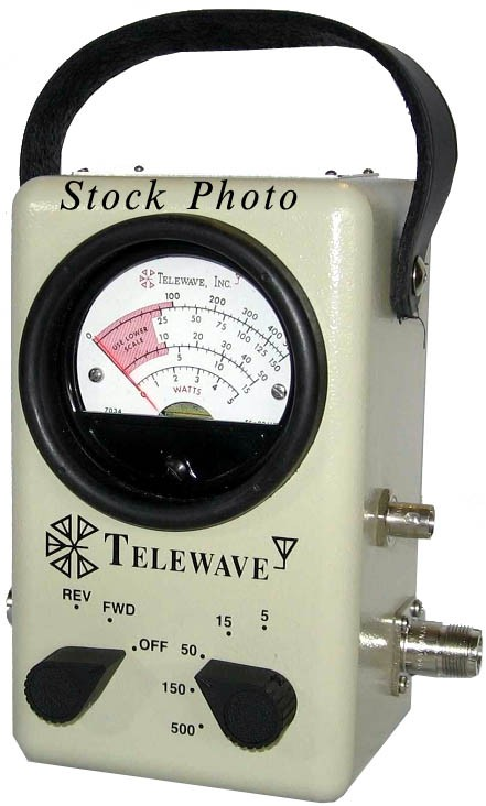 Directional Frequency Counter : Telewave a vhf uhf broadband rf directional wattmeter