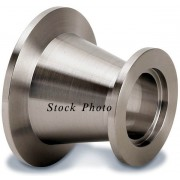 Kurt J. Lesker QF40XQF25C Stainless Steel Conical Reducer Nipple / Spool for HV High Vacuum Systems, Foreline Vacuum Plumbing & HV Chamber Ports - QF40 / KF40 to QF25 / KF25 BRAND NEW / NOS