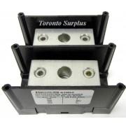Ferraz Shawmut 67052 2 Pole Aluminum Power Distribution Block - 420A, 600V ,14 TO 2/0 AWG BNIB / NOS