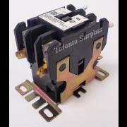 Cutler-Hammer Series C1 C25DNF225 2-Pole Definite Purpose Contactor, 120VAC 25A