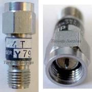 Weinschel 4T SMA Attenuator DC-18 GHz, 2 W, 2 dB to 6 dB