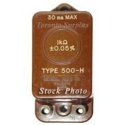 General Radio 505H / 505-H GenRad Fixed Resistance Standard