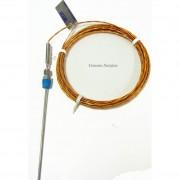 Wika Type K , Bulkhead Mount, Adjustable Thermocouple