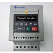 Allen Bradley Smart Speed Controller, Preset 160-AA02NPS1 / 160AA02NPS1 Ser.C, .37kW, 0.5 HP, 2.3 A