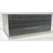 Ferraz Shawmut Extruded Aluminum Heat Sink 11.75''x8.875''x5.25'' with mounting holes