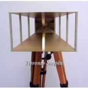 A.H. Systems, DRG Horn Antenna SAS-200/571, SAS 200 571, Double Ridge Guide Horn Antenna 700 MHz – 18 GHz