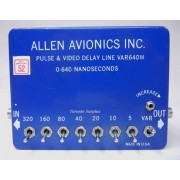 Allen Avionics Pulse & Video Delay Line VAR640M
