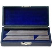 Brown & Sharpe 530 Beveled Toolmaker's Knife Straight Edge Set - SEE DESCRIPTION (In Stock) 4m