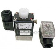 Burkert Type 0330 Solenoid Valve and Type 2509 Cable Plug (Default)