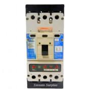Cutler Hammer KD3400FS Circuit Breaker, 3 Pole 600V w/ KT3350T 350A Trip