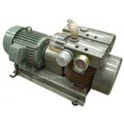 Orion KRA-8 KRA8 Dry Rotary Vane Vacuum Pump & Enclosure