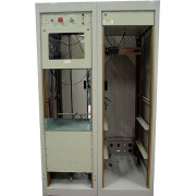 """Hammond S90571 Two Bay 19"""" Rolling Equipment Rack Cabinet with Epoxy Coated Paint"""