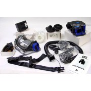 SEA SE400 Series / SE400AT-2 Full Gas Mask Papr Respirator SE400 Powered Fan with SE-TALK S1 Voice Amplifier & More - See Description, NOS