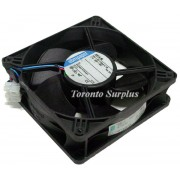 "Ebmpapst 4414M Equipment Fan & Filter Unit / Ventilator -24VDC, 0.35A, 7.7W, 5"" x 5"""