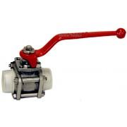 Gachot DN20-15 PN64 22mm Stainless Steel ball valve BRAND NEW / NOS