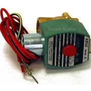 "Asco Red Hat 8320G174 Solenoid 1/4"" 3 Way 24VDC Valve BNIB / NOS"