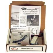 Dwyer 480 Vaneometer / Swing Vane Anemometer - Air Velocity Meter 25-400 FPM BNIB / NOS