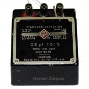 General Radio Company 1409-U Standard Capacitor