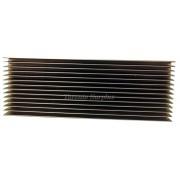 "Custom Aluminum Heat Sink 16 1/4"" x 5 3/4"" BRAND NEW/NOS"