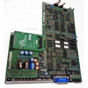 Zebra Main Logic PCB 46700 Rev 1 with Internal Memory Card Interface 46590 Rev 2 for Pro XI 90 Printer