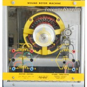Lab-Volt / LabVolt EMS 8231 Wound Rotor Machine / Frequency Converter Position Control / Phase Shifter
