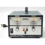 a 15V, 6.5A Anatek 15-6.5 Series 1200 Regulated Power Supply 0-15 V, 0-6.5 A