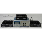 Cadex C- 6032 / C6032 / C6000 Series Battery Analyzer with (3) 4-Bay SM64-129 Charging Stations, 115V, 60Hz