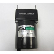 Oriental Motor OM 51K40GN-AUL Single Phase Induction Motor with 5GN15K-D30 Gear Head & Capacitor