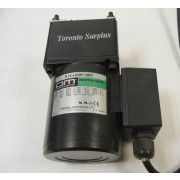 Oriental Motors 5IK40GN-AWT Induction Motor, Single Phase  40W 100-115V 0.67-0.76A with 5GN60K