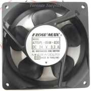 Minebea Flowmax 4715PL 05W B30 DC Axial Fan