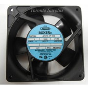 "4 1/4"" x 1 1/2"" NMB IMC 65 Boxer 4715FS-12T-B50 Impedance Protected Axial Fan, 4715FS12T, 115 V, 19/21 A , MIL-SPEC BNIB / NOS"